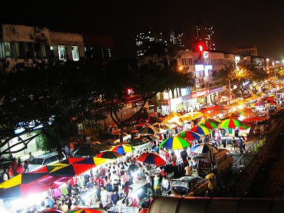 Local Night Market (Pasar Malam)